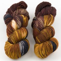 Essence of Autumn, Pasture Sock // Red Fox