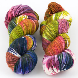 Essence of Autumn, Pasture Sock // Water Lily