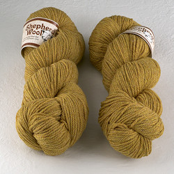 Stonehedge Fiber Mill, Shepherd's Wool Worsted // Autumn Gold