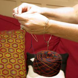 Lacis Wrist Yarn Ball Holder at  The Loopy Ewe