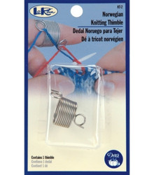 Norwegian Knitting Thimble (KT2) at  The Loopy Ewe
