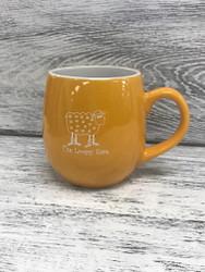Yellow Ceramic Loopy Mug at  The Loopy Ewe