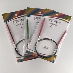 "Knitter's Pride Dreamz Circulars 32"" Needles at  The Loopy Ewe"