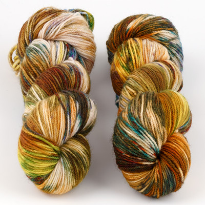 Essence of Autumn, Pasture Sock // October
