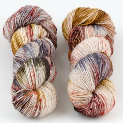 Essence of Autumn, Pasture Sock // Harris