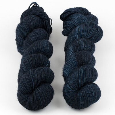 Monthly Exclusive Colorway // Timeless (Deepest Navy) - Smooshy with Cashmere
