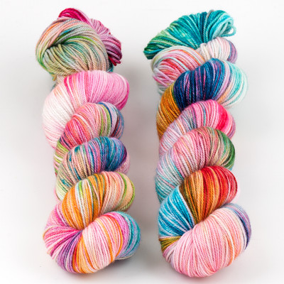 Monthly Exclusive Colorway // Spring Swirl - Smooshy with Cashmere