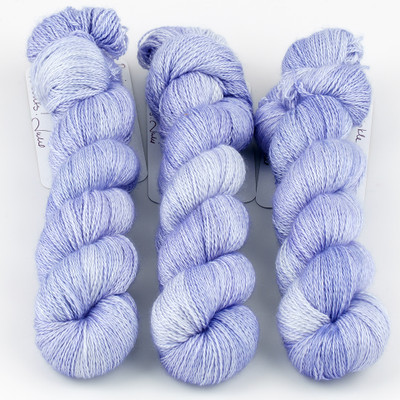 JulieSpins, Cashmere Silk Lace // Periwinkle