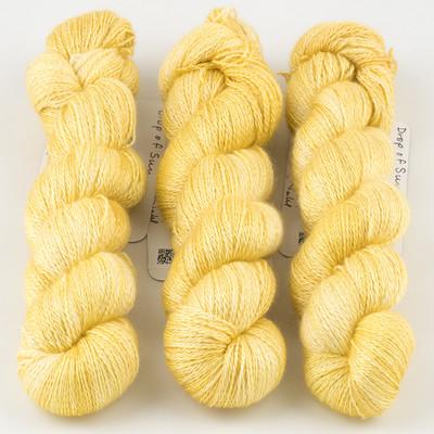 JulieSpins, Cashmere Silk Lace // Drop of Sun