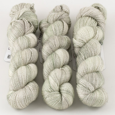 JulieSpins, Cashmere Silk Lace // Frosted Sage