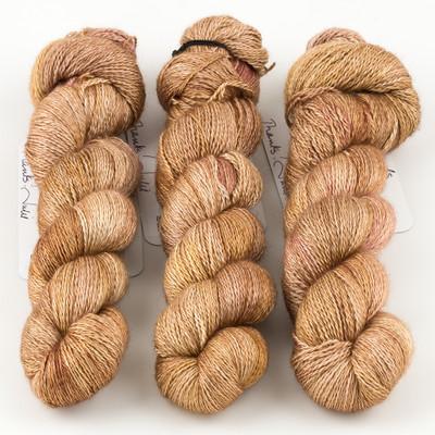 JulieSpins, Cashmere Silk Lace // Mellow Sands