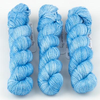JulieSpins, Cashmere Silk Lace // Perfect Summer Sky