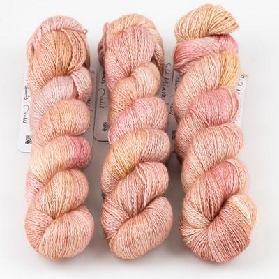 JulieSpins, Cashmere Silk Lace // Soft Miami Light
