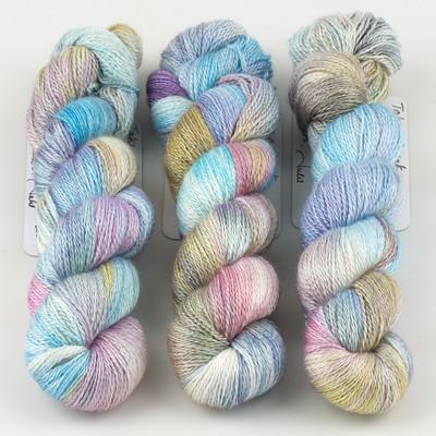 JulieSpins, Cashmere Silk Lace // Take a Break