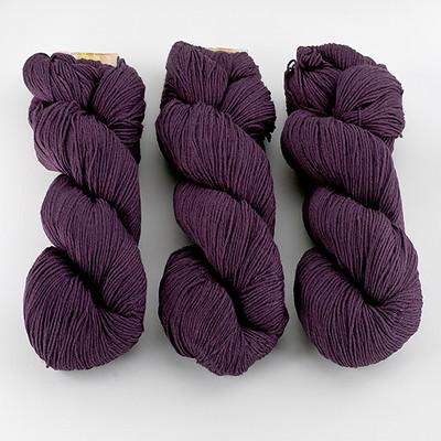 Cascade, Heritage Sock - Solids // 5605 Plum