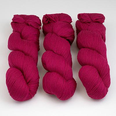 Cascade, Heritage Sock - Solids // 5616 Fuchsia