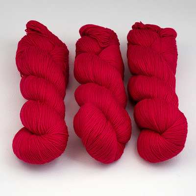 Cascade, Heritage Sock - Solids // 5619 Christmas Red
