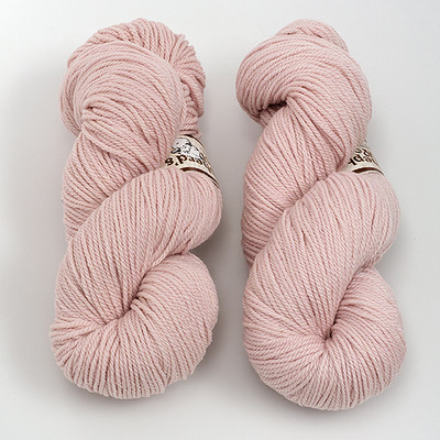 Stonehedge Fiber Mill, Shepherd's Wool Worsted // Baby Pink