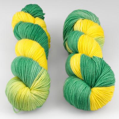 Fibernymph Dye Works, Bounce // Citrus Twist