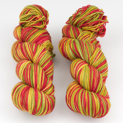 Fibernymph Dye Works, Self Striping // Baubles