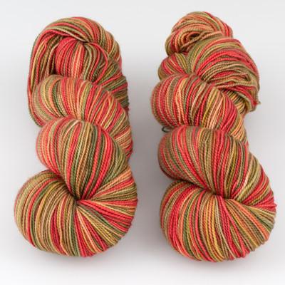 Fibernymph Dye Works, Self Striping // Barn Dance