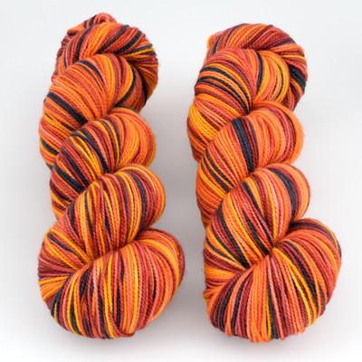 Fibernymph Dye Works, Self Striping // Molten