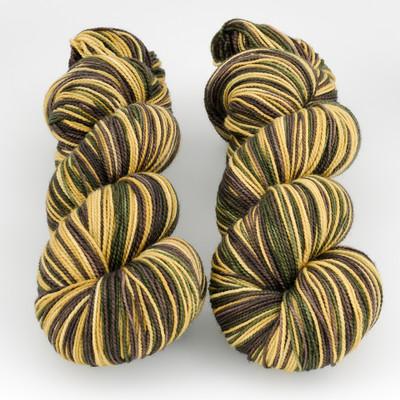 Fibernymph Dye Works, Self Striping // There's a Troll