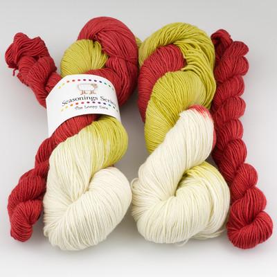 The Loopy Ewe, Seasonings Series // Linda's Holiday Warm-Up