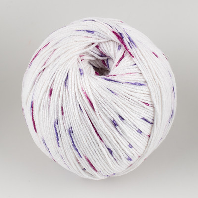 Universal Yarn, Bamboo Pop // Grape Dots (306)