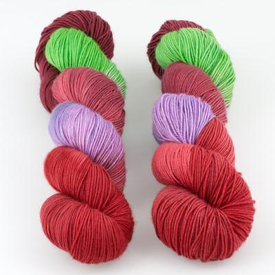 Blue Moon Fiber Arts, Socks that Rock Lightweight // Cupid's Dart