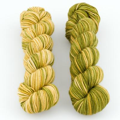 Fibernymph Dye Works, Inversibles // Bronze/Sunken Treasure Gold