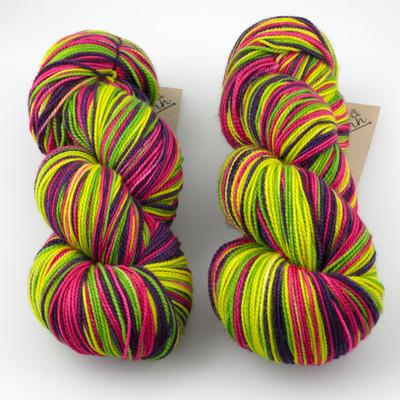 Tumbleweed Yarn, Aurora Self-Striping // Confetti