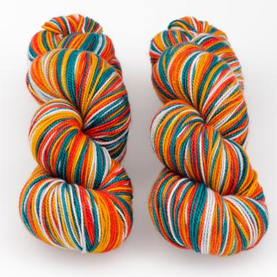 Tumbleweed Yarn, Aurora Self-Striping // A Work of Art