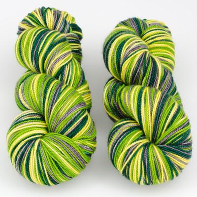 Tumbleweed Yarn, Aurora Self-Striping // Kermit