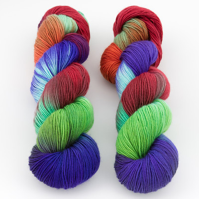 Blue Moon Fiber Arts, Monthly Exclusive Colorway // Summer Afternoon Escape - Mediumweight