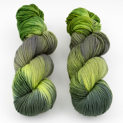 Blue Moon Fiber Arts, Monthly Exclusive Colorway // Greenery - Heavyweight