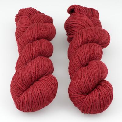Rosy Green Wool, Big Merino Hug // Rose Garden x (058)