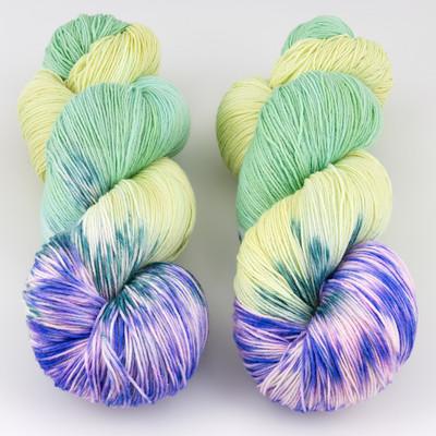 Gherkin's Bucket, Long Stride Sock // Iris Fields