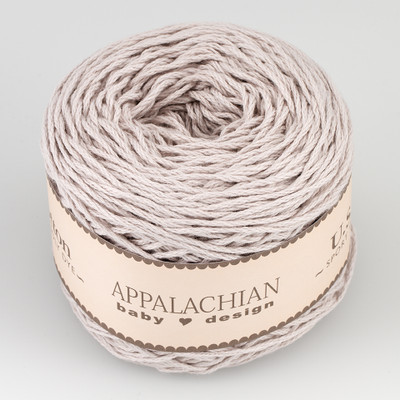 Appalachian Baby Design, Organic Cotton // Silver (194 yds)