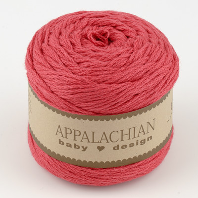 Appalachian Baby Design, Organic Cotton // Huckleberry Red (194 yds)