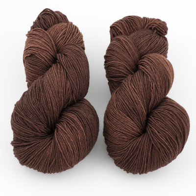 Ancient Arts Fibre Crafts, Heavy Fingering Yarn // Chocolate Lab