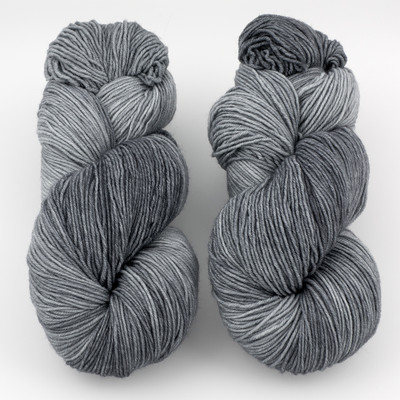 Ancient Arts Fibre Crafts, Heavy Fingering Yarn // Russian Silver Blue