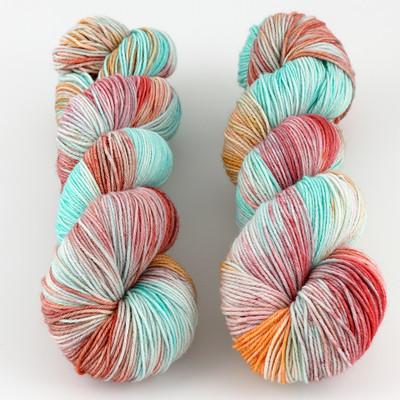 Savvy Skeins, Sensible Sock // Coral Reef