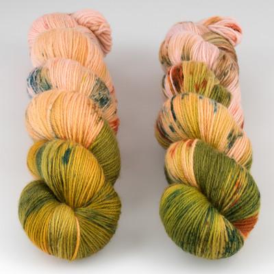 Qing Fibre, Super Soft Sock // Monsoon
