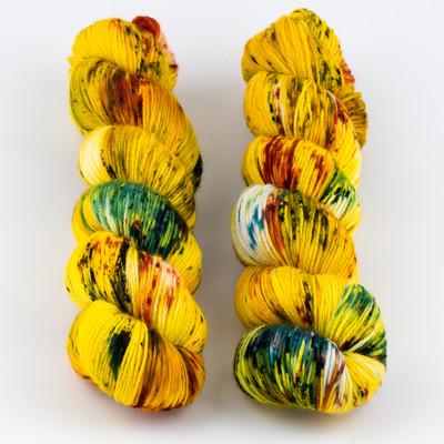 Qing Fibre, Super Soft Sock // Ember