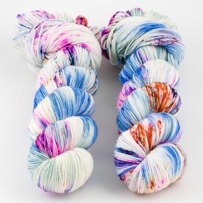 Brediculous Yarns, Addy Socks // Crazy Tuesday