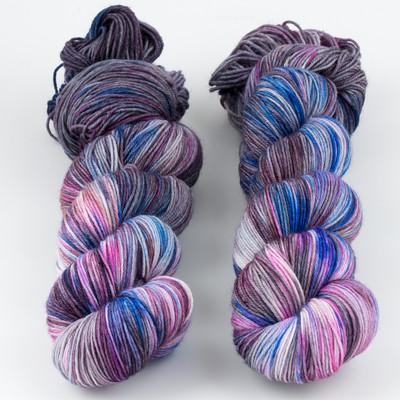 Brediculous Yarns, Addy Socks // Galaxy