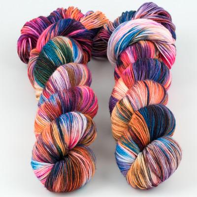 Brediculous Yarns, Addy Socks // Kaleidoscope