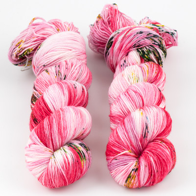 Brediculous Yarns, Addy Socks // Rose Petals