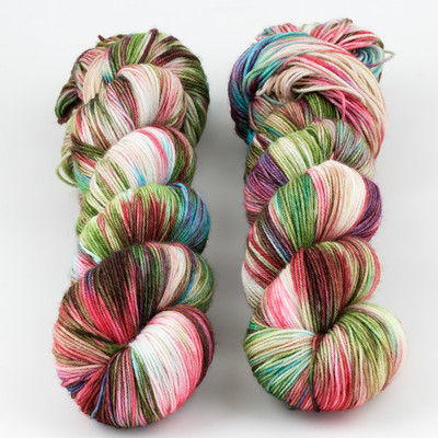 Brediculous Yarns, Addy Socks // Winter Cottage